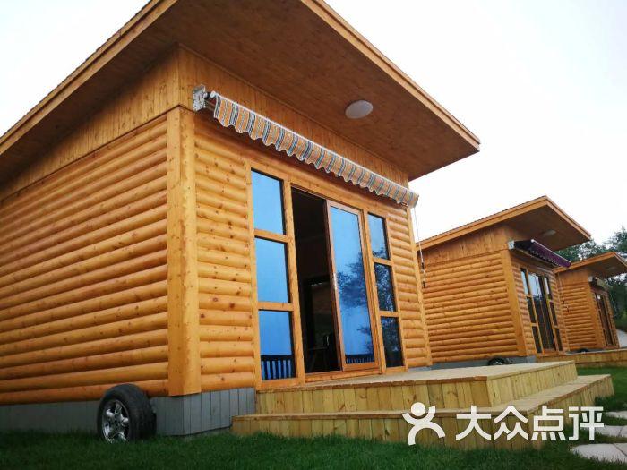金石滩心悦岛文化休闲公园海滨木屋外观图片 - 第1张