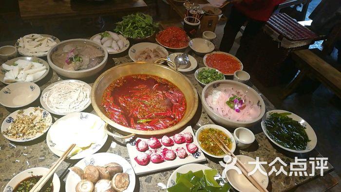 小龙坎老美食(大苏花果园店)-火锅-贵阳图片-贵阳州美食水墨画图片