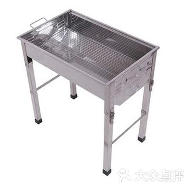 木屋烧烤户外淘宝店-长方形折叠烤炉图片-深圳美食