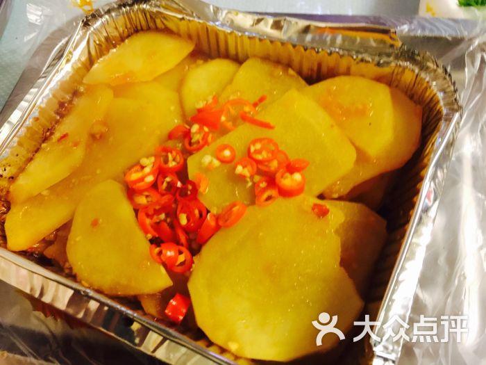 锡纸烧烤 土豆