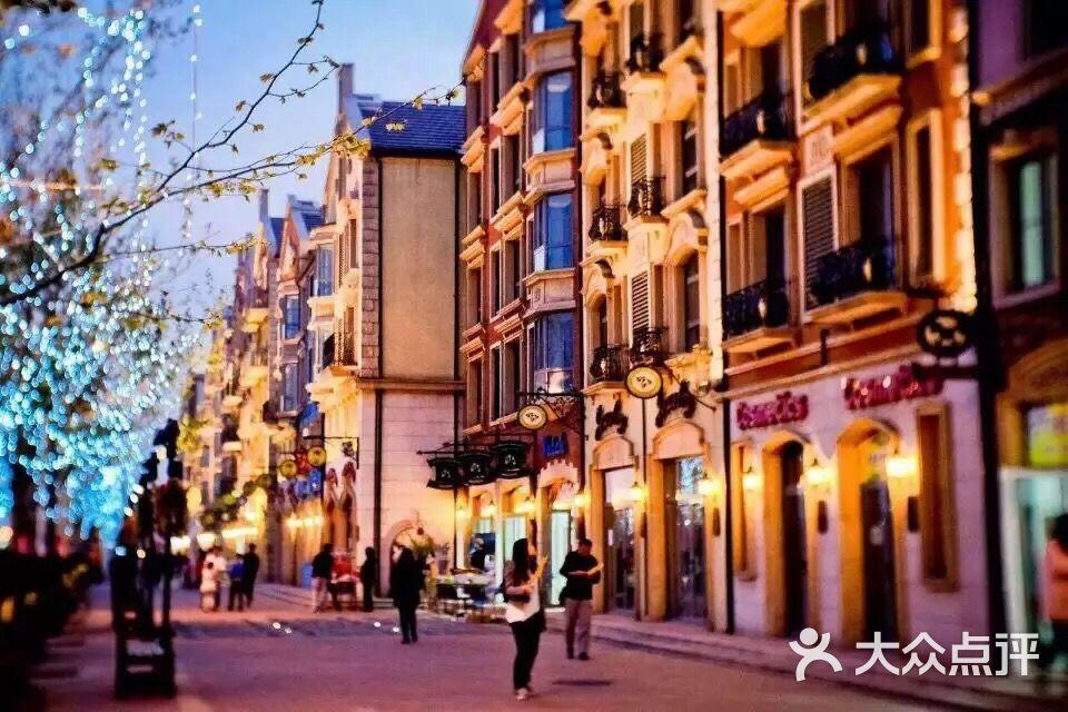 顶秀美泉小镇欧洲风情商业街的点评