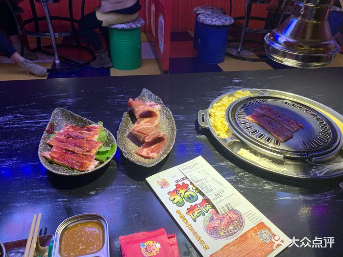 猪猪广场班烤肉假日是a广场主题餐厅F座3楼的美食会海珠城早茶图片