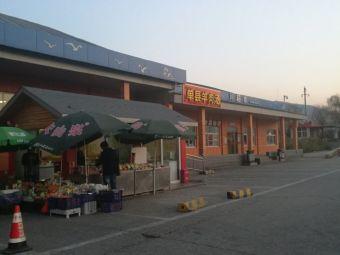 新汶服务区停车场