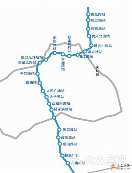 轨道交通8号线 上海轨道交通8号线 线路图图片图片