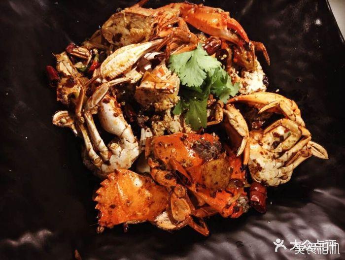 虾扒扒京味铜火锅香辣蟹图片 - 第1张
