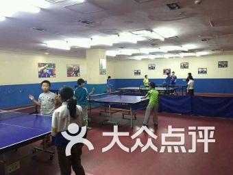 富力城超越乒乓球培训