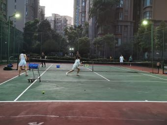 心怡中丝园网球俱乐部(心怡网球俱乐部中丝园网球场)