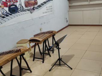 AYZ古筝培训架子鼓培训工作室送古筝架子鼓
