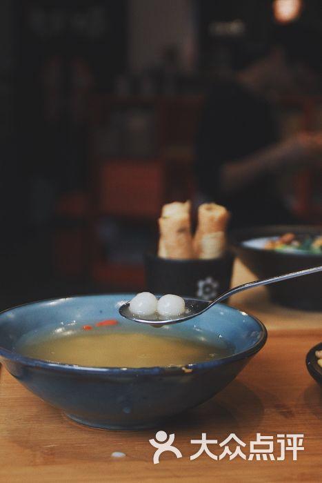 大王油茶(二厂店)醪糟汤圆图片 - 第1张