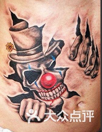 小丑纹身图案大全