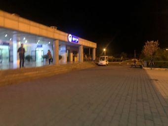 眉县服务区-停车场