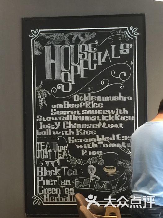 食堂-手绘菜单墙图片-北京美食-大众点评网
