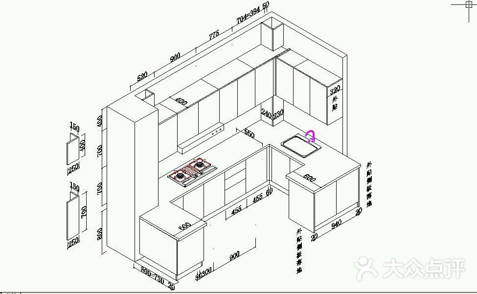 工程图 简笔画 平面图 手绘 线稿 975_601