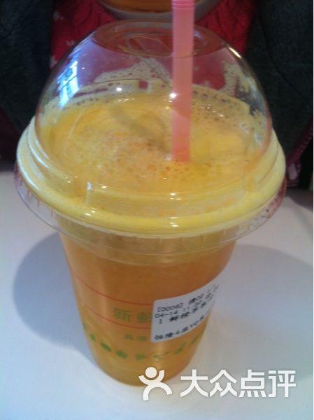 VQ鲜榨果汁 鲜橙苹果汁图片
