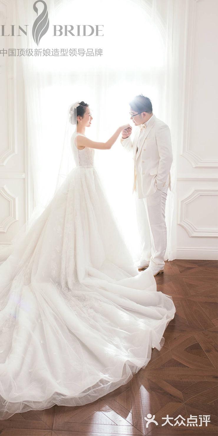 岳晓琳新娘造型步骤