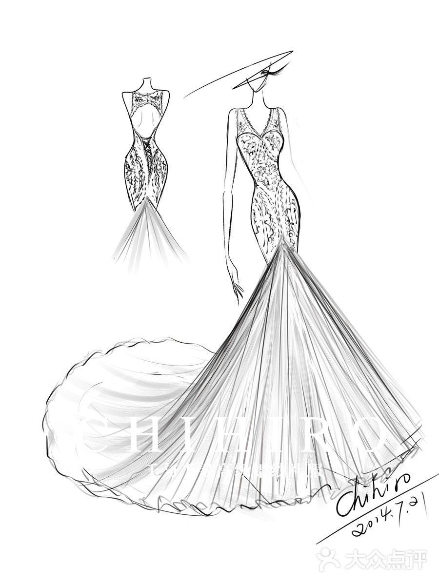 千寻公主系列-chihiro千与千寻高级婚纱礼服馆-上海