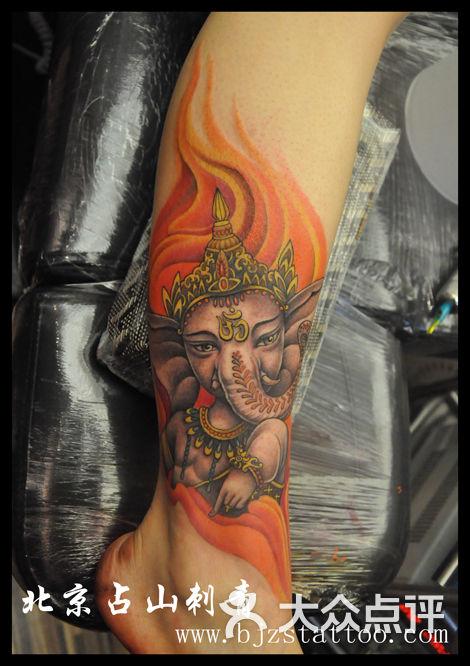 占山刺青北京占山刺青 佛纹身 后背纹身图片-北京纹身