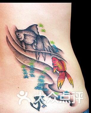 双鱼座纹身,设计