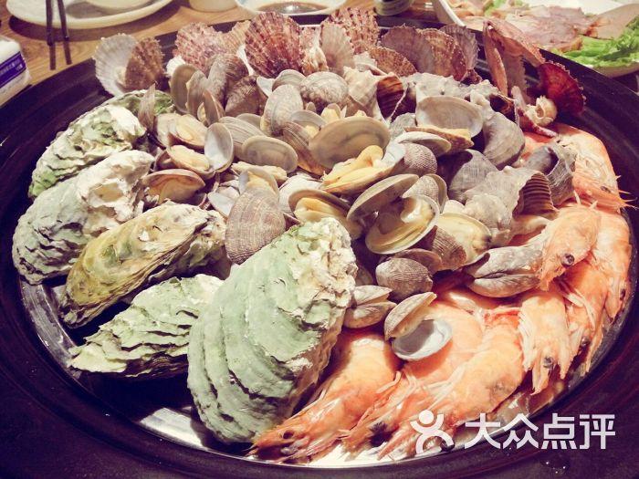 大钱海海鲜蒸汽火锅(延安三路店)-海鲜拼盘图片-青岛