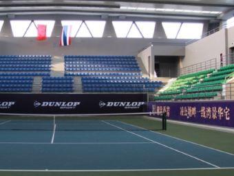 嘉兴国际网球中心停车场