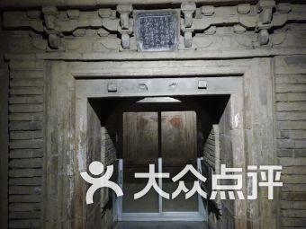 洛陽古墓博物館停車場