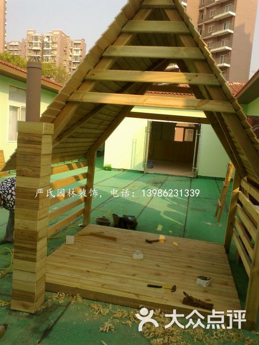 园林防腐木-汉阳幼儿园儿童屋图片-武汉生活服务