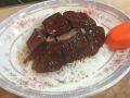 脆皮烧鹅饭