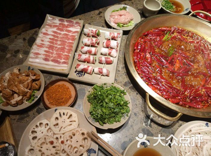 小龙坎老美食(贵阳花果园店)-古镇-贵阳美食-大图片火锅中山图片