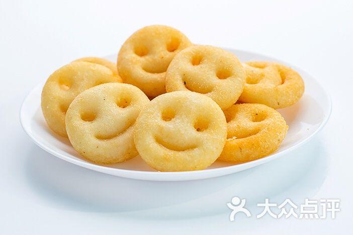 蚂蚁圈圈儿童主题餐厅笑脸薯饼图片 - 第2张