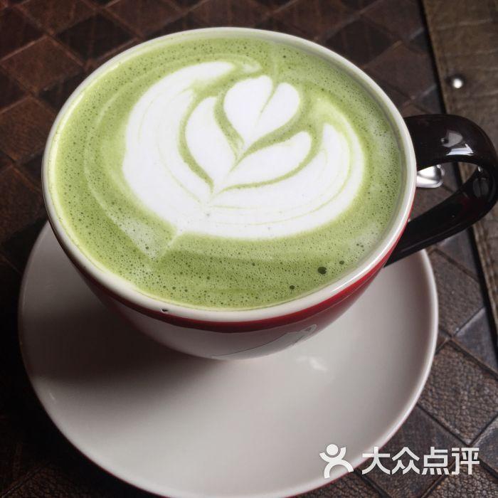 funcafe意式咖啡店抹茶拿铁图片 - 第7张