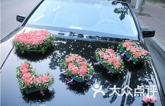 七月花店-婚礼花车图片-柳州购物-大众点评网