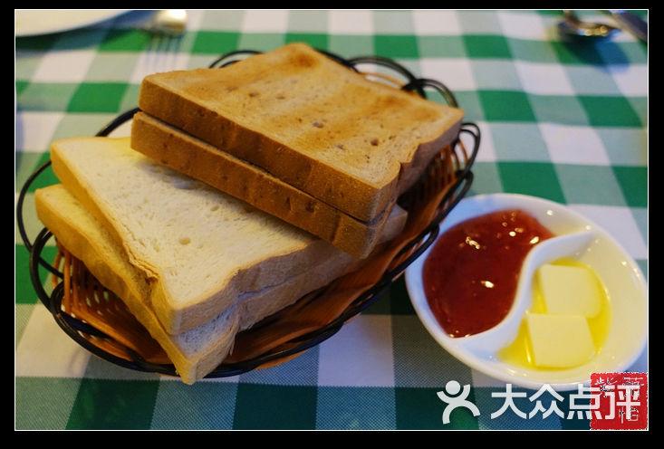 起士林西餐厅黄油配面包图片 - 第157张图片