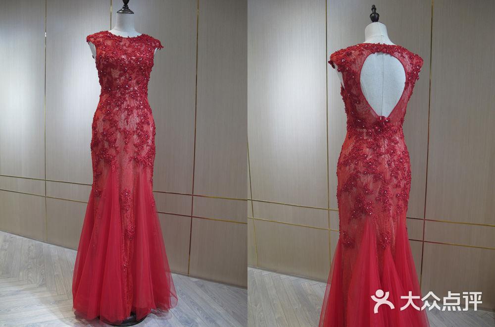 婚纱礼服铅笔设计图展示