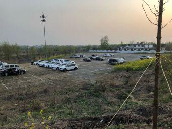 台儿庄古城-停车场