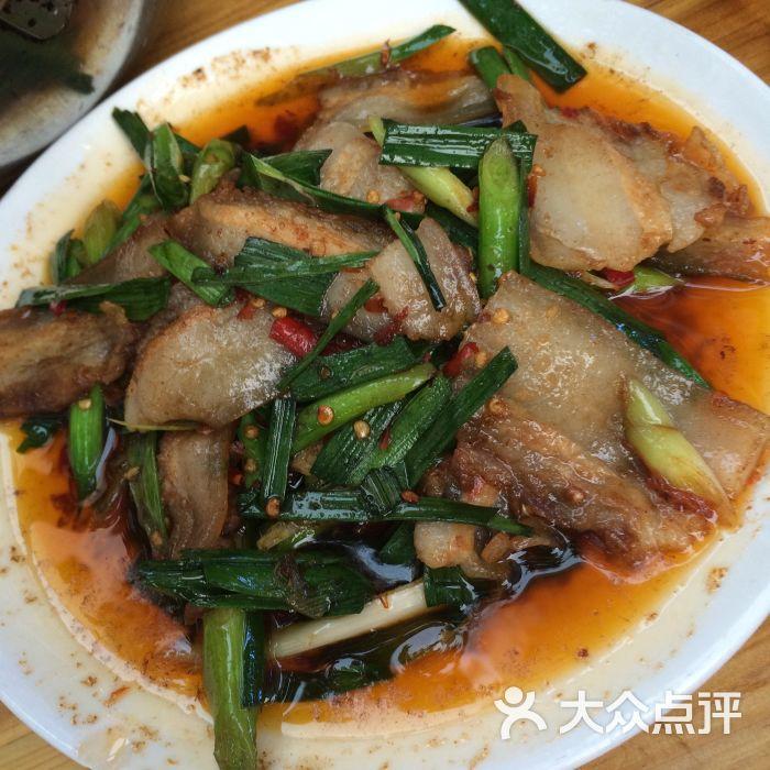 鸿鹤仔姜鲜锅兔(老店)-回锅肉图片-自贡美食-大众点评