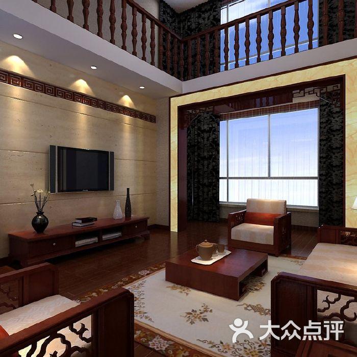盛装饰东易日盛装修设计案例,复式别墅楼梯图片 北京全包装修 大众
