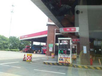 中国石化长安服务区加油站