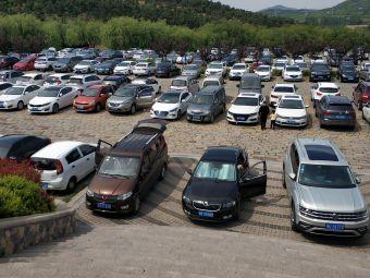 青岛森林野生动物世界停车场