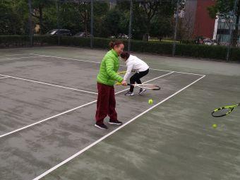 万科社区网球培训