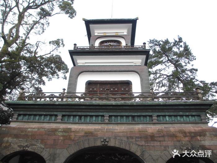 尾山神社位于北陆小京都金泽,是日本最出名.