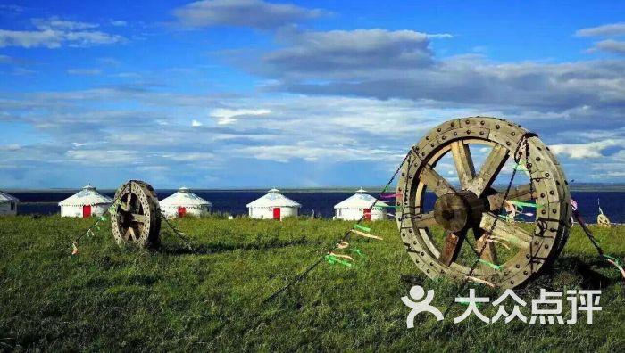 蒙古包 勒勒车图腾