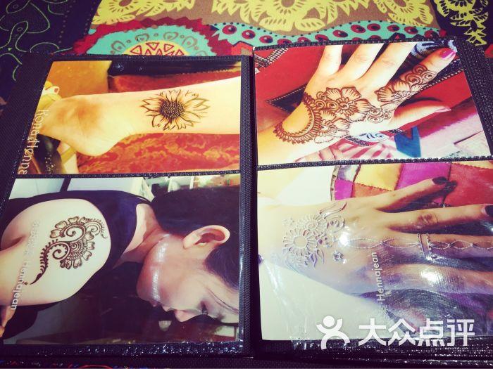 赋美·印度海娜手绘纹身(东大街店)-图片-西安丽人