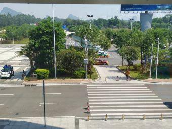 柳州白莲机场-停车场
