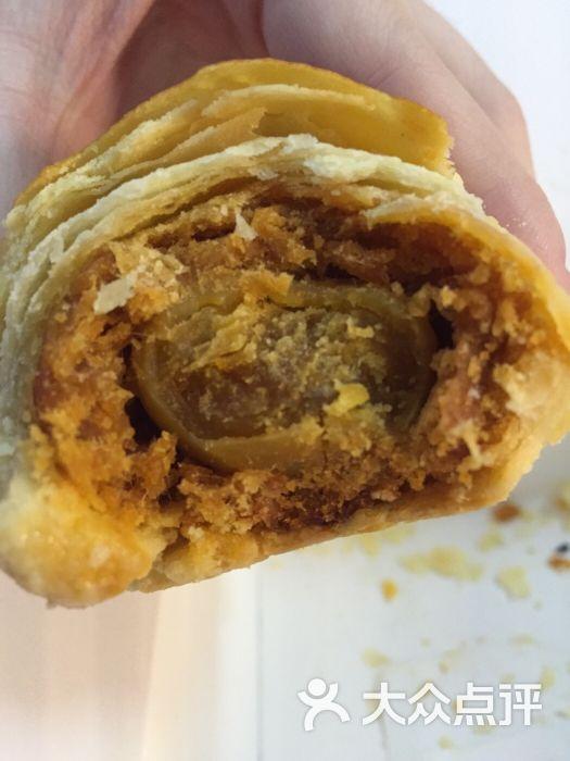 肉松小贝:买了两次买到肉松不是鲍师傅多到爆那种沙拉酱也不多黑脐黄豆好吗图片