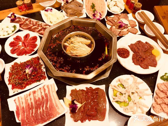 春节期间四公里附近的特色源香水、火锅猪圈火锅什么有美食献县图片