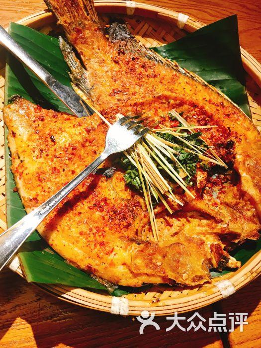 傣味香茅草烤罗非鱼mhw飞雷龙在几区图片