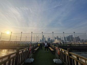 青岛奥帆中心海上钻石球场