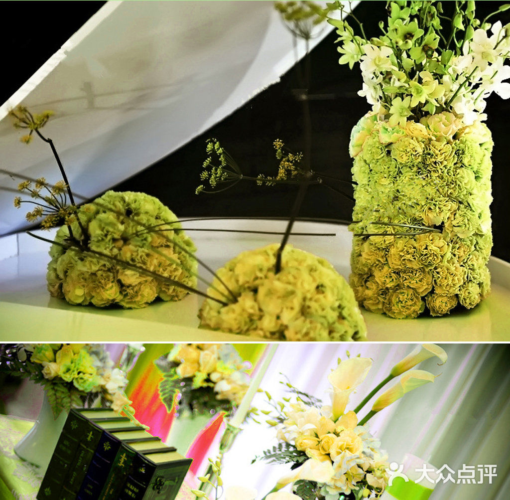 老闵行 婚纱摄影 影楼 巴黎春天婚纱摄影&高端婚礼会所  布置 迎宾区