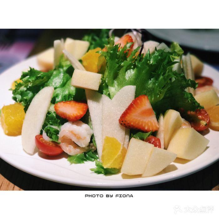 ��G�f�����v�_l·f·v火山情匈牙利餐厅(宝龙一城店)果蔬鲜虾沙拉图片 - 第5张