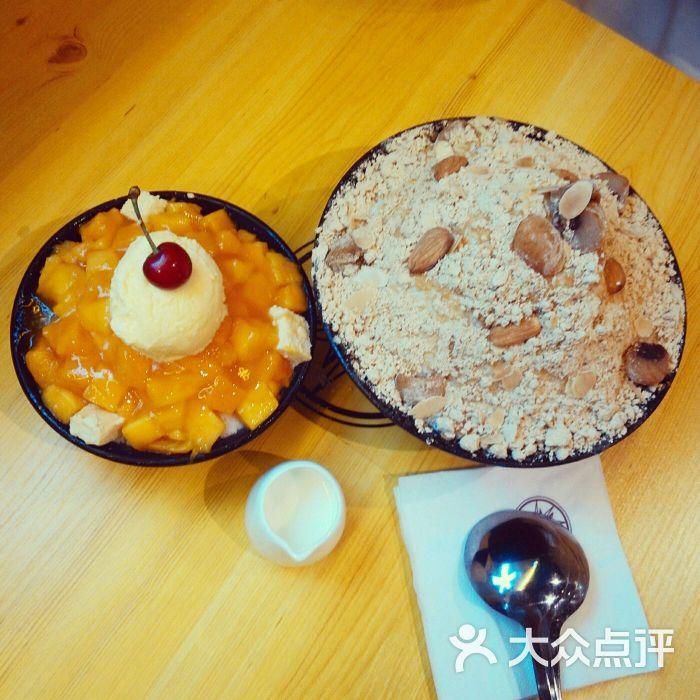 芒果�9il�..��y.�_il-sole雪花冰(新街口店)芒果芝士雪花冰图片 - 第3张